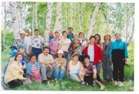 Рауф с группой учеников. Аркаим 2006 г.